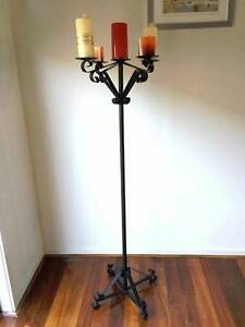 Wrought iron candle holder Lynbrook Casey Area Preview