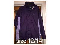 Trespass size 12/14 waterproof coat