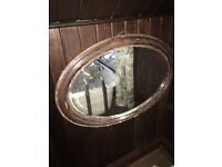 Antique old mirror