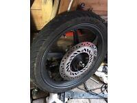 cbr 125 wheels