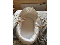 Ready- made Moses basket only