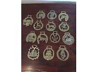 Horse brass x 14
