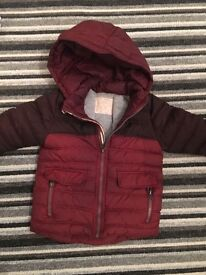Childrens zara coat