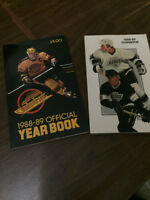 NHL Hockey Media Guides (VG condition)