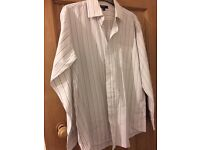 C men's stripe shirt 15.5