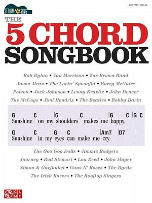 Strum & Sing: The 5 Chord Songbook Sheet Music Easy Guitar Book NEW 002501718 on Rummage