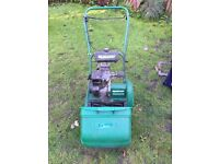 Qualcast 35s mower and roller (Suffolk punch)