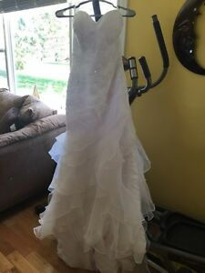 Mermaid wedding dress (white)