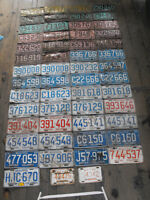 53 +  2  Collector License Plates
