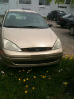 2001 Ford Focus certified and e tested Sedan
