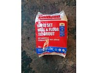 Grout floor and wall Cream 3kg RRP£15