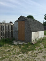 Spacious shed for rent