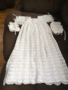 Christening outfit.