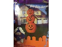 2.4m garden decor pumpkin