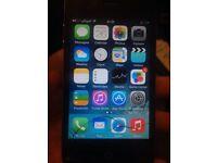 Apple iphone 4 black 16gb 02/giffgaff