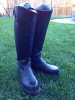 **REDUCED**  - Men's full Leather Riding Boots -Sz 13