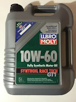 10W60 Lubro Moly GT1 Full Synthetic oil