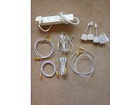 Selection of wiring and cables (£3 per item)