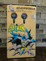 Brand New iHip DC Comics Batman Noise Isolating Headphones