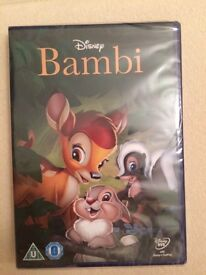 Bambi DVD New