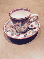Minton Cup and Saucer Pattern R186
