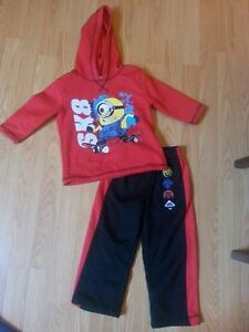 3T Despicable Me Outfit