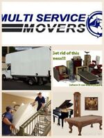 RENT TRUCK WITH DRIVER FOR $60/hr 514-833-8872