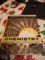 Chemistry, Biology and Math Textbooks
