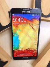 Pre owned Samsung Galaxy Note 3 black 32G AU MODEL with charger Calamvale Brisbane South West Preview