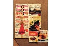 Slimming world recipe books and magazines