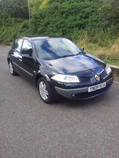 Renault Megane 1.9 Diesel Black