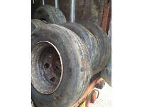 Tyres 235/70/17.5