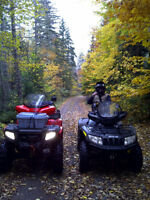 Very reliable great shape ATV for two people REDUCED $4300