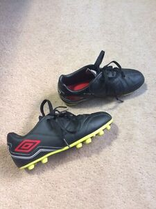 Soccer cleats. Child