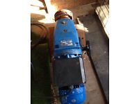 Single phase variable speed motor gearbox
