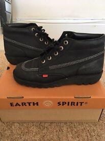 Men's kickers shoes (Earth Spirit) size 9uk RRP £55