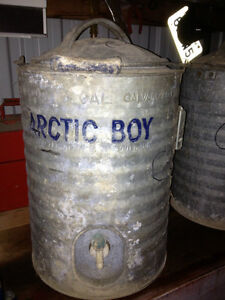 Vintage Arctic Boy Water Cooler - Antique