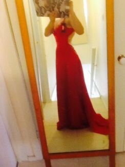 Red Formal dress or evening gown Ferntree Gully Knox Area Preview