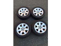 BMW ally wheels & Tyres 205/55R1691V