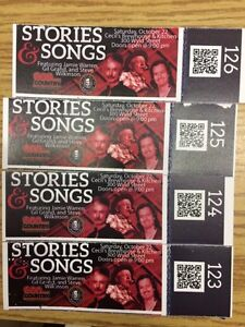 Stories and songs tickets