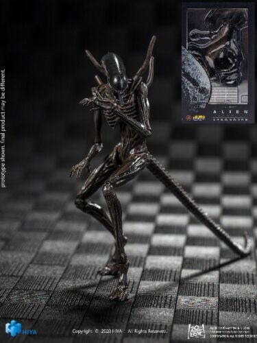 Hiya Toys Alien Covenant Xenomorph 1:18 Scale Action Figure Brand New In Stock