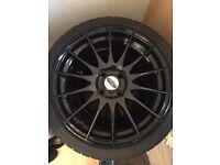 """Ford Fiesta Alloys 2011 17"""" wheels"""