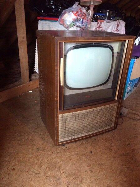 60s vintage Retro tv unit