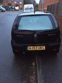 URGENT! Black Corsa 1.2 sxi , Great First Car , Low Mileage NEED GONE