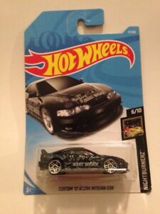 "2018 hot wheels ""custom 2001 Acura integra gsr"""