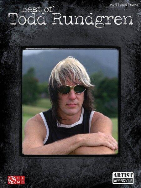 Best of Todd Rundgren Sheet Music Piano Vocal Guitar SongBook NEW 002502442