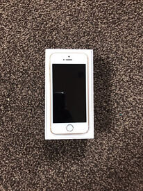 iPhone 5SE Gold 64gb unlocked brand new!!!