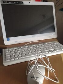 Acer all in 1 PC - white