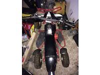 50cc quad and 50cc mini moto