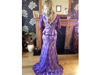 Purple Formal Dress Size 8